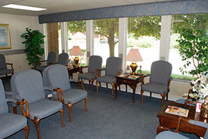Elkhart Urology Waiting Area